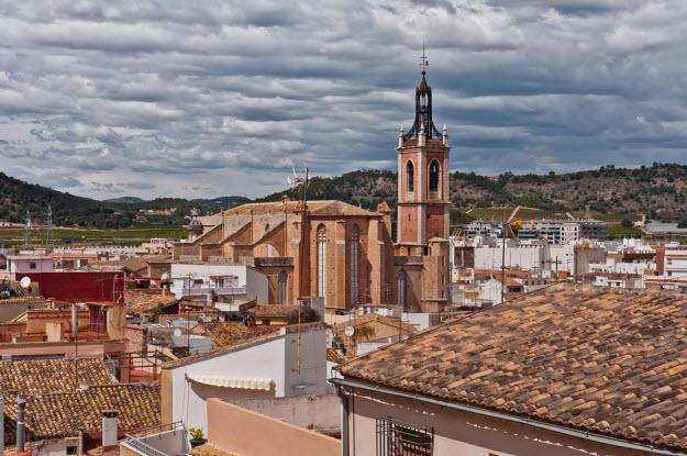 Una imagen de la Iglesia parroquial de la Natividad de Nuestra Señora en Sagunto