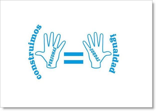 Logo conmemorativo para el Día Internacional de la Sordera 2013