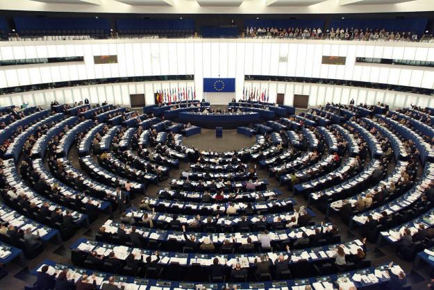 Una imagen del interior del Parlamento Europeo