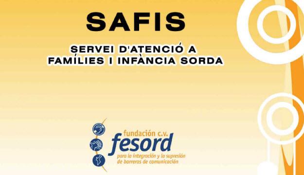 Imagen corporativa del Servei d'atenció a famílies i infància sorda