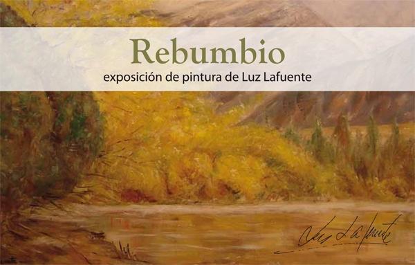 """Cartel de la muestra de Luz Mendoza, """"Rebumbio"""""""