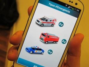 Pictogramas que aparecerán cuando el usuario abra la aplicación.