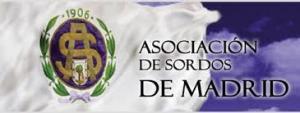 Logotipo de la Asocicación de Sordos de Madrid