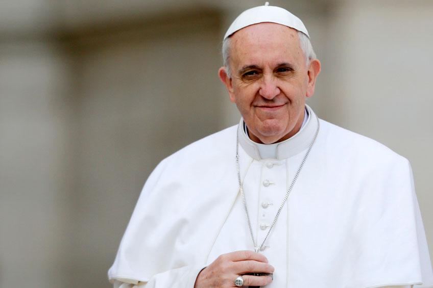 El Papa tuvo unas charlas online con niños de diversos países