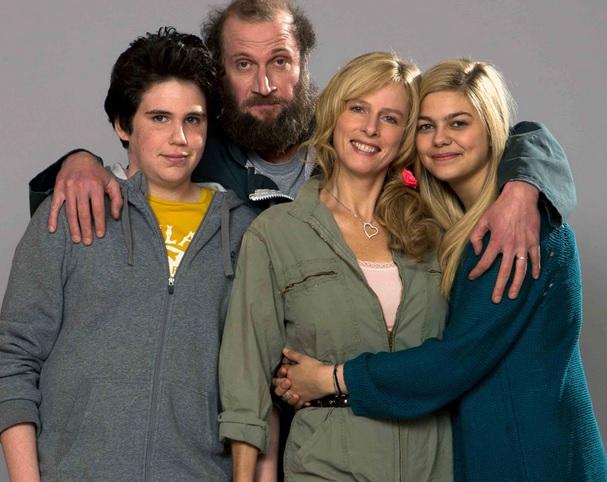 Imagen de los actores protagonistas
