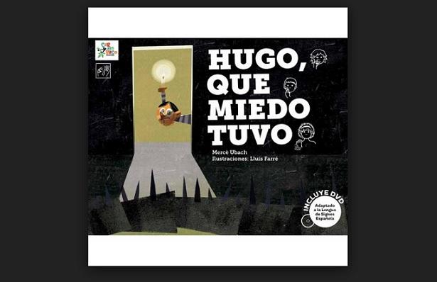 """Portada del cuento """"Hugo, que tuvo miedo"""""""