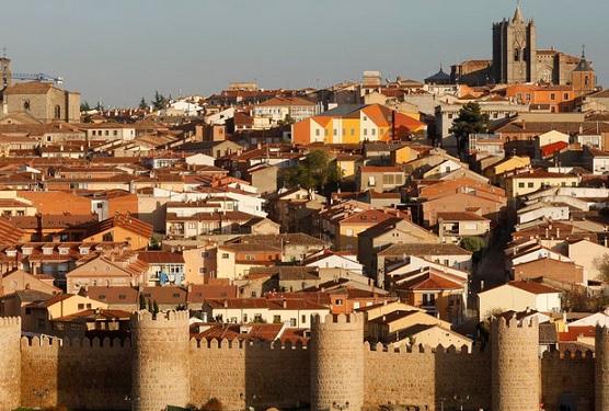 Una vista de la ciudad castellana