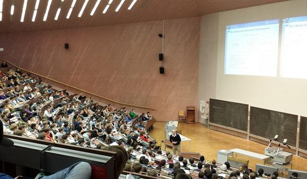 Un aula universitaria