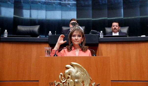 Una senadora mexicana, a favor de esta iniciativa