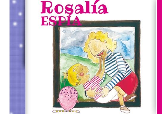 """Ilustración del libro """"Rosalía espía"""""""